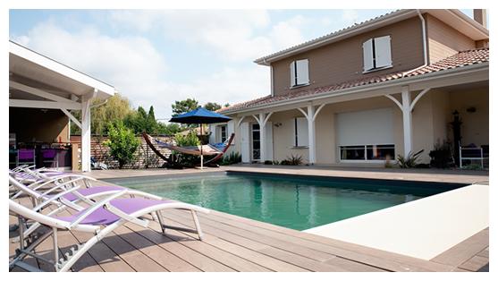 Pr sentation brettes piscine constructeur piscine for Construction piscine 40