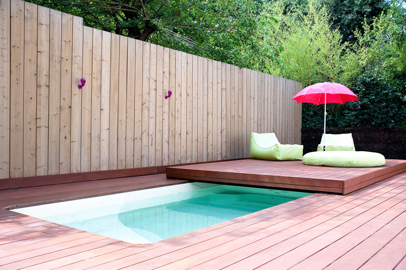 Idee amenagement terrasse avec piscine images for Amenagement piscine terrasse