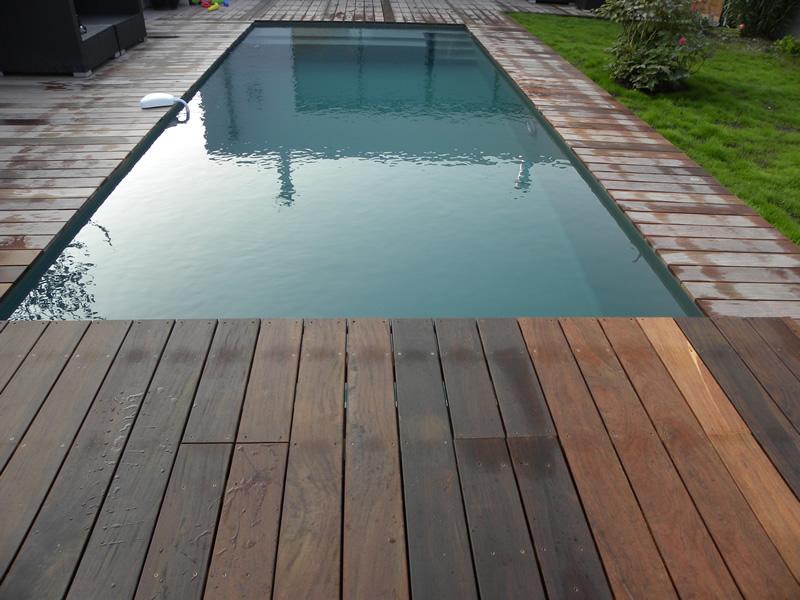 Terrasse Piscine Bois Orleans  Maison Design  TrividUs