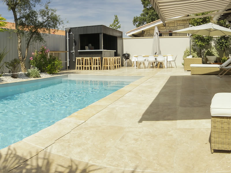 R alisations brettes piscine terrasse bois bordeaux for Deco terrasse piscine