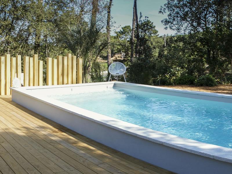 Terrasse bois piscine bordeaux diverses for Aqua bois piscine